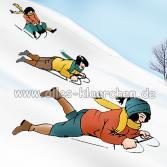 Winterfreude frei nach H. Zille