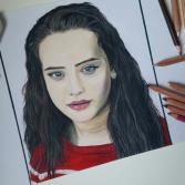 Katherine Langford Portrait PRINT