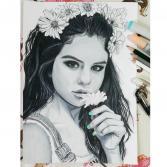 Selena Gomez Portrait PRINT