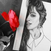 Camila Cabello Portrait PRINT
