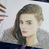 Taylor Hill Portrait Print