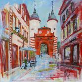 Heidelberg-Blick au's Brückentor