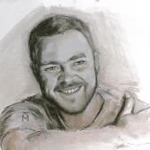 Selbstportrait (als junger Mann)