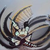 Vögel abstrakt