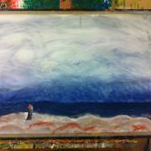 Der Mönch am Meer nach Caspar David Friedrich
