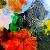 Blumenstrauß abstrakt gesehen...
