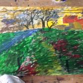Ende Herbst - Der Weg / End of autumn - the path