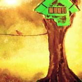 Das Baumhaus...