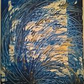 "Acrylgemälde ""Stormy Sea"", Original"