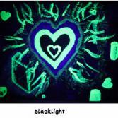 Green Heart in 3 Lichtverhältnissen