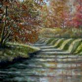 Herbstlicht am Kanal