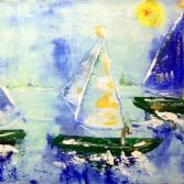 Schiffe abstrakt
