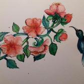 Blütenzweig. BLOSSOM