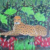 Im Dschungel verborgen