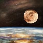 """Abstrakt Ölgemälde """"Universe"""""""