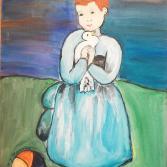 Picasso Mädchen mit Taube