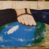 Die Erde unter seinen Füssen