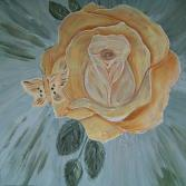 Rosalie in Apricot