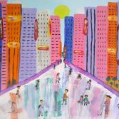 Menschen in der Stadt