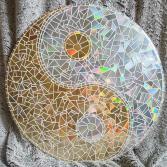 Yin & Yang gold / weiss