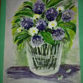 Frühlingsblume in der Vase
