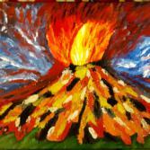 Bild Nr. 46 - Vulkanausbruch