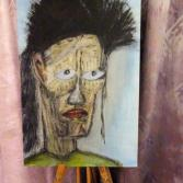 084 - Pale man with green shirt