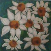 weiße Blumenpracht