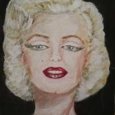 MARILY MONROE IN FARBE