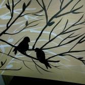 verliebtes Vogelpaar