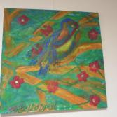 Bildnis eines Papagei
