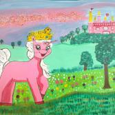 Rose im Märchenwald