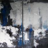 Schwarz-Weiß-Blau