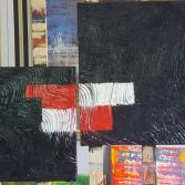 Schwarz Weiß Rote Materie