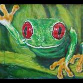 Fröhlicher Frosch 1