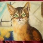 _das Atelier der Katze