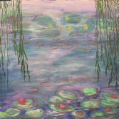 Seerosen n. Monet