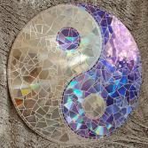 Yin & Yang violett/weiss