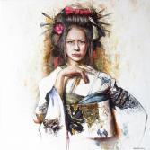 girl in kimono