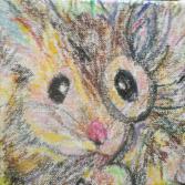 Maus mit Monokel