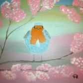 Vogel im Kirschbaum