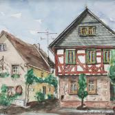 Fachwerkhaus - Großwallstadt, Hauptstrasse