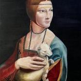 Die Dame mit dem Hermelin