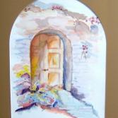 Tür zum Dornrößchenschloß