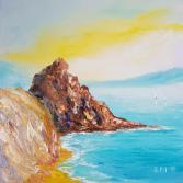 Sea Rocks painting