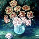 Rosen im Schatten