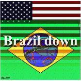 Brazil down