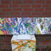 Acrylbild 40x150cm