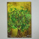 Abstraktes Acrylbild 60x90 (Gonzo V.)