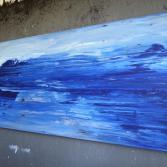 Abstraktes Acrylbild 60x140 (Gonzo V.)